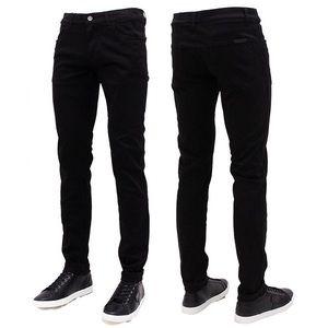 Dolce and Gabbana black slim straight pants